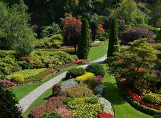 The Sunken Gardens are the crown jewel of Butchart's displays. Photo: The Butchart Gardens