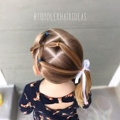 trendy-hairstyles-for-girls - Fab New Hairstyle 2 Easy Toddler Hairstyles, Baby Girl Hairstyles, Princess Hairstyles, Trendy Hairstyles, Braided Hairstyles, Updos Hairstyle, Childrens Hairstyles, Hairstyle Names, Teenage Hairstyles