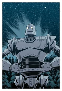 The Iron Giant by Robert Wilson IV