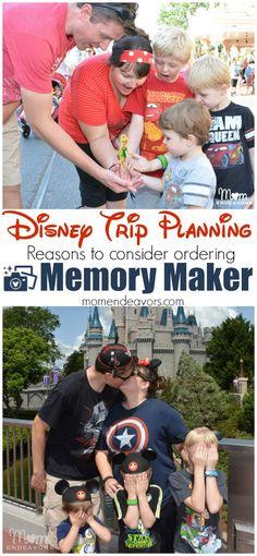 Disney Trip Planning - Reasons to consider ordering the Memory Maker PhotoPass at Walt Disney World.