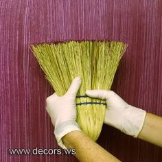 Wall Treatments Margeaux Egelston Gibson Simple And Easy Brooms Arent Just