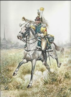 French; 22nd Dragoons, Trumpeter, c.1809