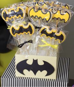 Batman Boy Superhero Birthday Party Planning Ideas Decorations - Batman Party - Ideas of Batman Party - Batman Boy Superhero Birthday Party Planning Ideas Decorations Batman Birthday, Superhero Birthday Party, 4th Birthday Parties, 3rd Birthday, Superhero Treats, Superhero Cookies, Birthday Ideas, Batgirl Party, Batman Party Supplies