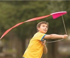 20-Minute Kite Eco-friendly Craft for Kids