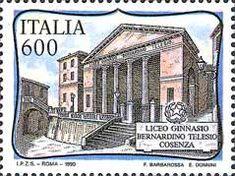 Scuole d'Italia - liceo ginnasio B.Telesio (1990)