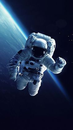 Astronaut Earth Space iPhone Wallpaper - Best of Wallpapers for Andriod and ios Iphone Wallpaper Astronaut, Space Iphone Wallpaper, Galaxy Wallpaper, Iphone Wallpapers, Wallpaper Samsung, Wallpaper Wallpapers, Space Planets, Space And Astronomy, Astronomy Stars
