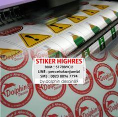 Percetakan dan Advertising Jambi || 5178B9C2 || Dolphin Desain 89: CETAK STIKER…