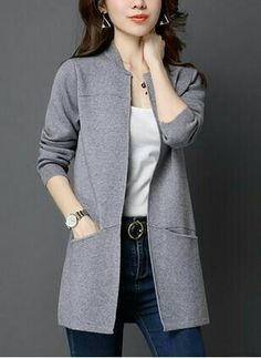 Best 12 Latest fashion trends in women's Coats. Shop online for fashionable ladies' Coats at Floryday – your favourite high street store. Coats For Women, Jackets For Women, Ladies Coats, Lady Fitness, Hijab Fashion, Fashion Dresses, Girl Sleeves, Golf Outfit, Mantel