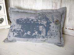 cushion...vintage carousel...Paris    <3