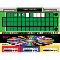"Wheel of Fame for interactive whiteboards creates customizable ""Wheel of Fortune"" style games for your classroom!"
