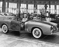 Fiat 1955 Vintage Sport Automobile 8 x10 Cars Old Photo