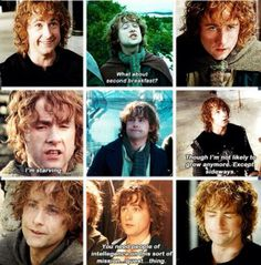 Peregrin Took. I love him so much! He never looses his beautiful heart no matter what happens on the journey.