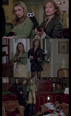 Sandrine Bonnaire and Isabelle Huppert in 'La Cérémonie' by Claude Chabrol (1995)