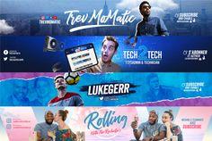 Social Media Poster, Social Media Branding, Social Media Design, Social Media Graphics, Youtube Banner Backgrounds, Youtube Banners, Design Retro, Logo Design, Logo Youtube