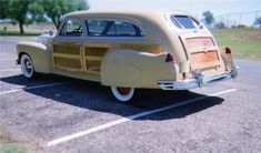 1947  Cadillac Woody...Brought to you by #HouseofInsurance in #EugeneOregon97401