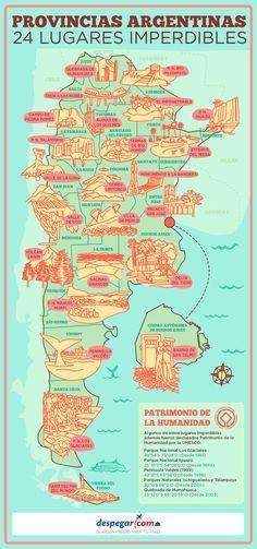 Destinos imperdibles en la Argentina http://mundodeviagens.com/ - Existem muitas maneiras de ver o Mundo. O Blog Mundo de Viagens recomenda... TODAS!
