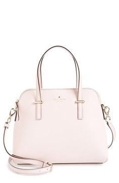 Women's kate spade new york 'cedar street - maise' satchel - Pink Rosy Dawn One Size by: kate spade new york - small ladies handbags, designer purses for cheap, designer womens purses *ad Kate Spade Geldbörse, Kate Spade New York, Kate Spade Purse, Kate Spade Satchel, Kate Spade Handbags, Luxury Handbags, Purses And Handbags, Cheap Handbags, Popular Handbags