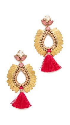 Deepa Gurnani Deepa by Deepa Gurnani Lieu Earrings   SHOPBOP