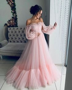 Makeup Looks Discover Off the shoulder dress for wedding guest fluffy tulle dress for women with corset floor length maxi dress formal off shoulder gown any color Elegant Dresses, Pretty Dresses, Beautiful Dresses, Crazy Dresses, Awesome Dresses, Fabulous Dresses, Classic Dresses, Gorgeous Dress, Simple Dresses