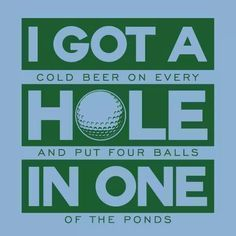 Golf Quotes - Howard's Golf focuses on Golf! Find golf tips for beginners, to swing tips on a proper golf stance, and selecting the best equipment. We're talking Golf! Golf Card Game, Golf Handicap, Golf Etiquette, Dubai Golf, Golf Quotes, Golf Sayings, Funny Quotes, Golf Breaks, Golf Humor