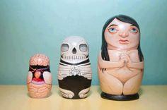 Esta si es una muñeca rusa muy realista