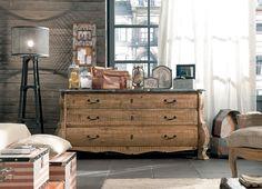 Living modern - mix vintage industrial Vintage Industrial, Living Room, Antiques, Modern, Furniture, Home Decor, House Decorations, Decoration Home, Interior Design