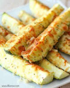 Delicious Parmesan Zucchini Spears recipe
