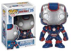 Funko POP Marvel Iron Man Movie 3: Iron Patriot Action Figure - http://coolgadgetsmarket.com/funko-pop-marvel-iron-man-movie-3-iron-patriot-action-figure/