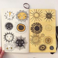 Brilliant illustration by Heegyum Kim Kunstjournal Inspiration, Sketchbook Inspiration, Art Sketchbook, Art And Illustration, Doodle Drawings, Doodle Art, Sketch Markers, Art Journal Pages, Art Journals