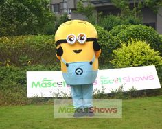 ミニオン着ぐるみ、Minions キャラクター着ぐるみ販売 http://www.mascotshows.jp/product/Buy-Minion-Mascot-Costume-Two-Eyes.html