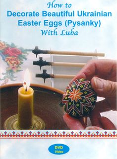 DVD: How to Decorate Beautiful Ukrainian Easter Eggs (Pysanky) with Luba. This DVD is intended to be used and enjoyed by beginners of any age. Luba will guide you through the process until you have your own unique and beautiful egg. Orthodox Easter, Easter Egg Designs, Ukrainian Easter Eggs, Egg Art, Egg Decorating, Art For Kids, Diy Crafts, Short Vowels, Peter Cottontail