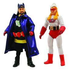 Bluntman & Chronic Retro Cloth Action Figures