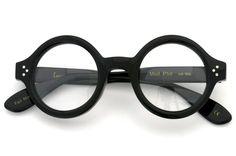 Lesca Prestige メガネ Mod.Phil Col.100 Black | folding | optician | PonMegane