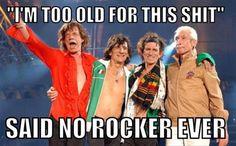 funny rock band meme
