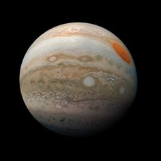 New Photos of Jupiter Show the Planet from Fresh Perspectives Juno Jupiter, Jupiter Planet, Cosmos, Nasa Juno, Juno Spacecraft, Great Red Spot, Space Probe, Deep Space, Space And Astronomy
