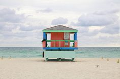 Miami's signature lifeguard houses are captured by French Photographer Léo Caillard  from a minimalist viewpoint. Caillard sets the subjects in the very same way for each....