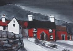 Cottage paintings by a Welsh artist, Beatrice Williams   Art by Beats
