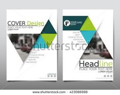 Abstract Background Geometric Shapes And Frames For Presentation