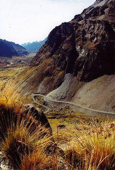 Just Outside La Paz, Bolivia