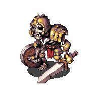 skeleton monster by hwadock