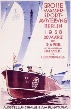 Great exhibition of water sports, Berlin (1938)
