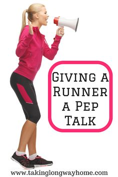 Taking the Long Way Home: Giving a Runner a Pep Talk (and a giveaway!)