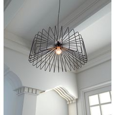 foehn 1 light modern black ceiling lamp overstockcom shopping the best deals on chandeliers pendants ceiling avant garde