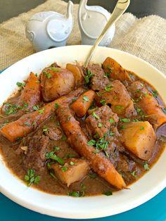 Simple Beef Stew ~ The Complete Savorist