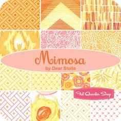 Mimosa Fat Quarter Bundle Dear Stella Fabrics - Fat Quarter Shop