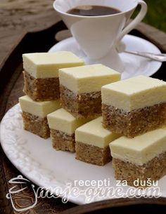 Orah štanglice - Moje grne Sweet Desserts, Sweet Recipes, Easy Cookie Recipes, Dessert Recipes, Croation Recipes, Bosnian Recipes, Kolaci I Torte, Torte Cake, Bakery Recipes
