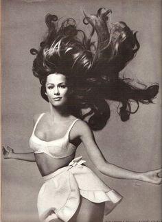 Lauren Hutton by Richard Avedon, 1968