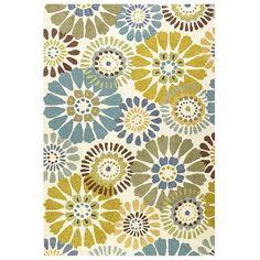 Verna Pinwheel Rugs - Blue. I want this rug in my living room. So cute