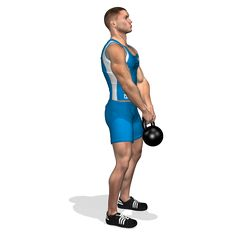 DEADLIFT ONE KETTLEBELL INVOLVED MUSCLES DURING THE TRAINING LATS