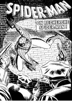 Spiderman Målarbilder för barn. Teckningar online till skriv ut. Nº 4